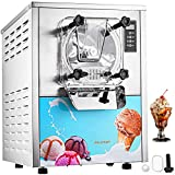 VEVOR 1400W Commercial Ice Cream Machine 5.3Gallon per Hour Hard Serve LED Display Auto Shut-Off...