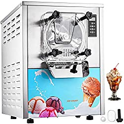 Commercial Ice Cream Machine -  Hard Ice Cream Machine - VEVOR 1400W