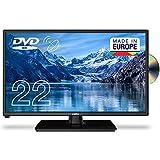 """Cello C2220FSDE 22"""" (54,6 cm Diagonale) Full HD LED TV mit eingebautem DVD Player und DVBT2 S2 Triple Tuner Neues 2021 Modell"""