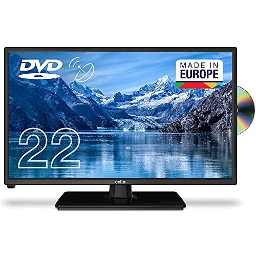 Cello C2220FSDE 22' (54,6 cm Diagonale) Full HD LED TV mit eingebautem DVD Player und DVBT2 S2...