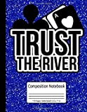 Trust The River Texas Hold'Em Casino Online Poker Composition Notebook 110 Pages Wide Ruled 8.5 x 11 in: Poker Journal Poker Strategy Diary