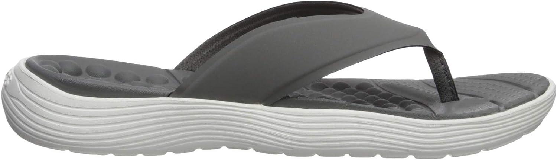 Crocs Womens Reviva Flip Flops for Men with All-Day Comfort