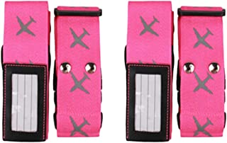 c011cb0a0561 Amazon.com.au: Pink - Carry-Ons / Luggage: Clothing, Shoes & Accessories