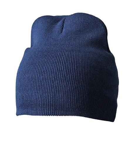 Myrtle Beach Bonnet en Coton Unisexe Bleu Bleu Taille Unique