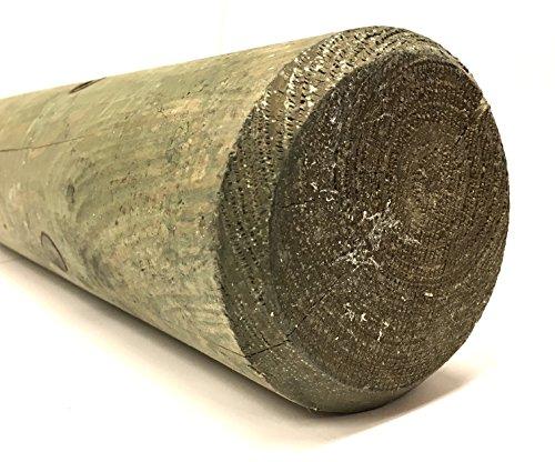 Losa Legnami PALI08150 Pali per Recinzioni, Verde Chiaro, 150x8x8 cm