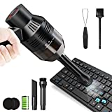 Upgraded Keyboard Cleaner, Cordless Keyboard Vacuum Cleaner, Powerful Rechargeable Computer Cleaner for Clean Narrow Gaps Dust, Hair, Sofas, Car Device, Keyboards, Crumbs, Scraps and Pet Houses