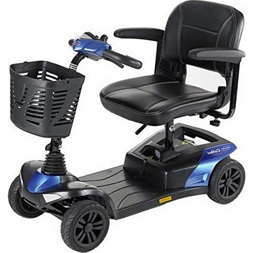 Mini scooter pour handicapé Colibri Indoor Invacare - 37 à 42 cm - Bleu