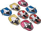 Power Rangers Ninja Steel Paper Mask, Party Favor