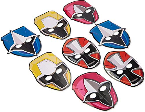 Power Rangers Ninja Steel Paper Mask, Party Favor