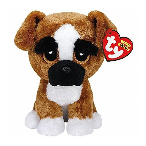 Claire's Accessories Ty Beanie Boos Plush Brutus the Boxer Dog - 6 Small by Claire's