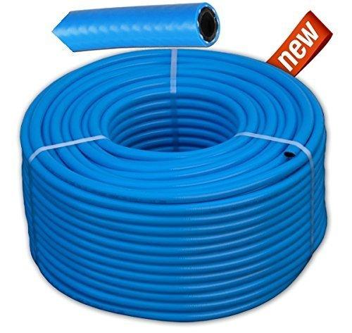 Druckluftschlauch PVC-Schlauch Wekstatt Schlauch 5-50m flexibel Ø 10mm (50 Meter)