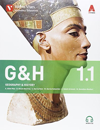 G&H 1. Geography & History. Book 1, 2. 3D Class (+ 2 CDs) - 9788468232393