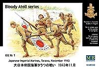 マスターボックス 1/35 大日本帝国海軍 タラワの戦い 1943年11月 プラモデル