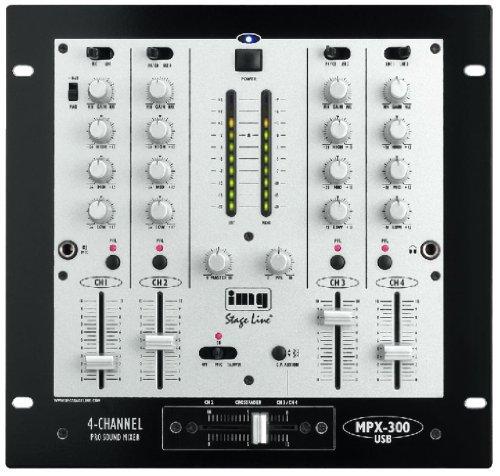 IMG Stage Line MPX-300USB DJ-Mischpult