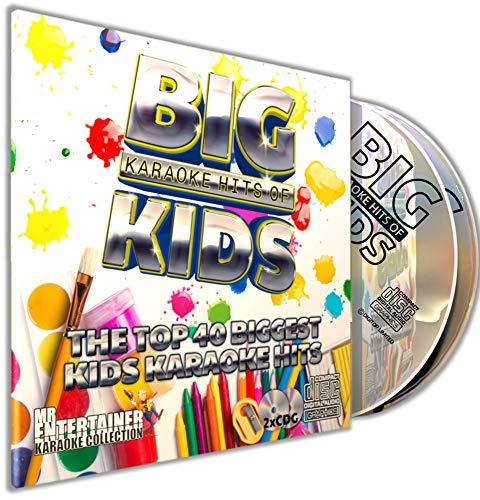 KIDS KARAOKE CD+G (CDG) Pack. Mr Entertainer Karaoke Big Hits. 40 mejores canciones infantiles. Para niños. Disney
