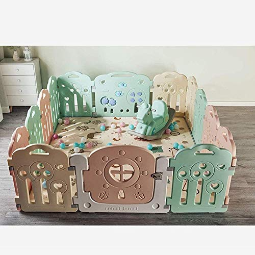 Best Deals! LHY- Playpen Baby Activity Center - Baby Playpen Indoor Safety Play Yard with Security L...