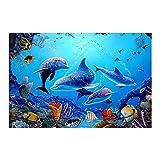 HUGF Leinwandbilder Leinwandbild 1 Stück Blue Ocean