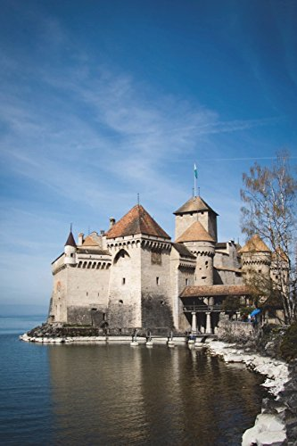 Chillon Castle in Montreaux (Vaud) Switzerland Journal: 150 page lined notebook/diary
