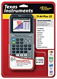 Texas Instruments TI-84 Plus CE Silver Graphing Calculator by Texas Instruments