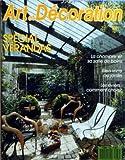 ART ET DECORATION [No 286] du 01/06/1989 - SPECIAL VERANDAS - LA CHAMBRE ET SA SALLE DE BAINS - BIEN VIVRE AU JARDIN - LES EVIERS - COMMENT CHOISIR
