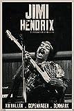 Jimi Hendrix/Copenhagen Poster Drucken (60,96 x 91,44 cm)