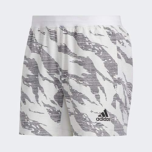 adidas Tky Camo Short Pantalón Corto, Hombre, Blanco, S