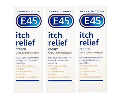 E45 Itch Relief Cream (3 x 100g Tube)