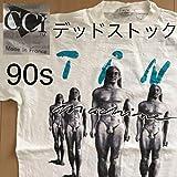 デッドストック ティンマシーン Tin Machine 1991年ツアーTシャツ Lサイズ david bowie デヴィッドボウイ