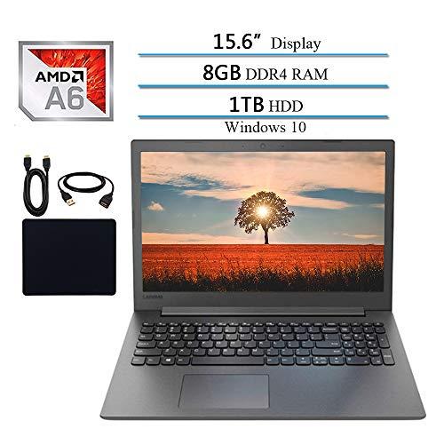Lenovo Ideapad Premium 15.6 Inch Laptop 2019 Notebook Computer, AMD A6-9225 2.6GHz, 8GB DDR4 RAM, 1TB HDD, DVD-RW, Wi-Fi, Bluetooth, Webcam, USB 3.0, HDMI, Windows 10 W/ 29.9 Accessories Bundle