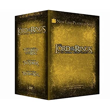 The Lord of the Rings: The Motion Picture Trilogy (PG-13) - DVD