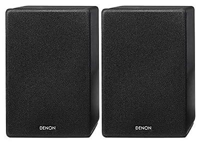 Denon SCN10 Speakers (Denon SCN10 Speakers Black) by Denon
