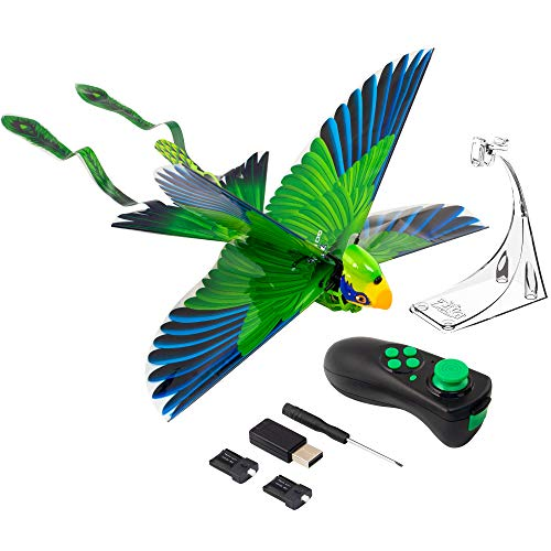 Zing Go Go Bird - Green - Remote Control Flying Toy - Looks and Flies Like A Real Bird - Great Starting RC Toy for Boys and Girls - Packaging May Vary