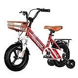 ZLI Bicicletas Infantiles Bicicleta Freestyle Boy's Girl con Freno y Pedal, Edades de 2 a 12 Años, Big Kids Teens Walking Bike, Neumáticos a Prueba de Fugas de 18''/16''/14''/12'' (Size : 14inch)