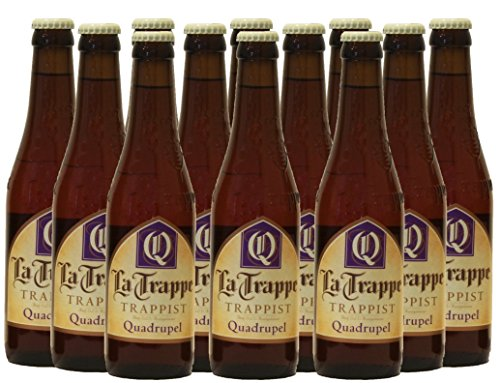 La Trappe Quadrupel trappistenbier (12 x 0,33l) craft beer (12 x 0,33l)
