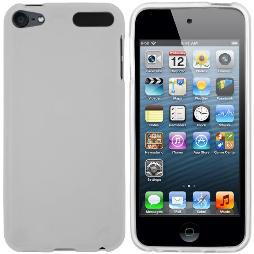 mumbi Hülle kompatibel mit iPod Touch 5G / 6G / 7G Case Cover, transparent Weiss