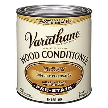 1 qt Rust-Oleum 211775H Clear Varathane Oil-Based Interior Premium Wood Conditioner Pack of 1