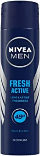 NIVEA MEN Fresh Active Deodorant, 150ml