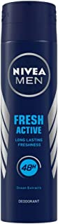 NIVEA MEN Deodorant, Fresh Active Original, 150ml
