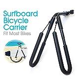 Explopur Support pour Porte-vélos pour Planche de Surf - Support pour Support de Kitesurf Side Side pour vélo de Planche de Surf