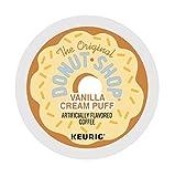 Donut Shop Vanilla Cream Puff Coffee Keurig K-Cups, 72 Count