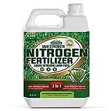 PetraTools Liquid Nitrogen Fertilizer, 28-0-0 High Liquid Nitrogen for All Grass Types, Liquid Lawn...