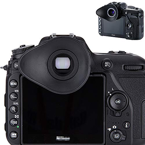 JJC Visor Ocular Eyecup para Nikon D7500 D7200 D7100 D7000 D5600 D5500...