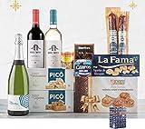 Lote Especial Navideño - Cesta de Navidad con Productos Variados