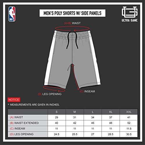 Ultra Game NBA Men's Active Soft Workout Basketball Training Shorts