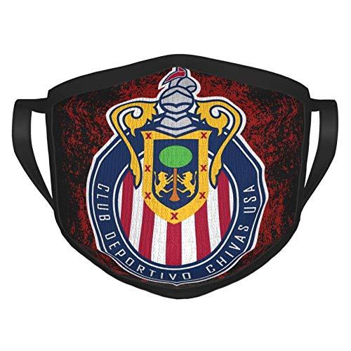 RDXX Guadalajara Chivas Lightweight Adult Fashion Playboi Carti Máscara Facial cómoda, Reutilizable, Adecuada para Hombres y Mujeres