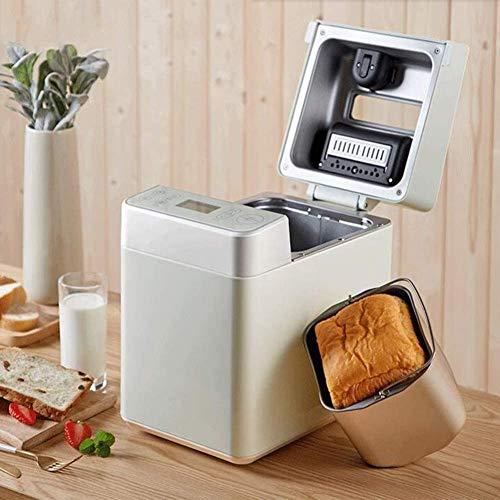 MISLD Brot-Maschine, Compact 28-in-1 Speicherprogrammierbare Brot-Hersteller Mit Obst Nuss-zufuhr, Nonstick Touch-Panel, stumm Entwurf, 3 Crust Farben brothersteller
