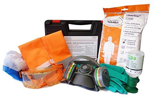 Lemming Gefahrgutkoffer GGVS - ADR Koffer mit Gefahrgutausrüstung bzw. PSA-Koffer für LkW und Straßenverkehr - Inhalt in Markenqualität von Markenherstellern - Arbeitsschutz Arbeitssicherheit