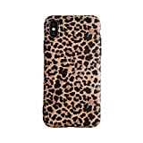 Leopard Hülle für iPhone XS MAX Classic Luxury Fashion Schutzhülle Flexible Soft-Gel-Rückseite Shell-Gehäuse (iPhone XS MAX, Leopard)