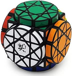 Wheel of Wisdom Puzzle Black Cube Twisty Toy New 3x3x3 Puzzle Cube