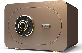 Safe Home Small Safe 28cm Electronic Password Office Small Safe Box Bedside Cabinet Password Box 360 ° Lock Core Burglar A...